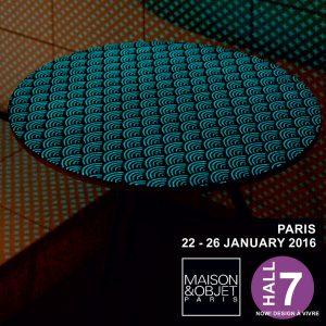 2016 01<br>MAISON et OBJET JAN &#8211; Paris