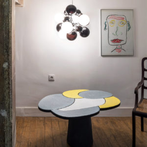 2018 – Emmanuel Babled Showroom – Lisbon – Etnastone Table – Ph. Alberto Ferrero