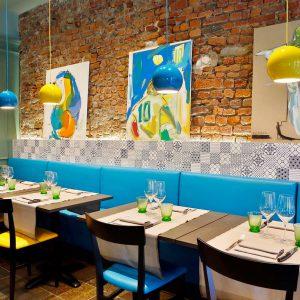 2014 – Berimbau Sushi Bar – Milano – Arch. Francesco Marescotti – Novecento + Komon – Color: SM32