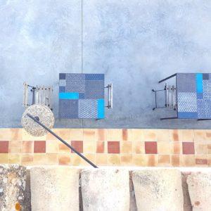 2015 – B&B Tenuta Don Paolino – Avola – Arch. Paolo Tiberio – Patchwork of tiles KOMON NATURA + OSSIDO