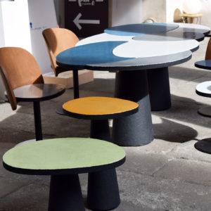 2017 – Salone del mobile – Palazzo Litta – Milano – Etnastone table