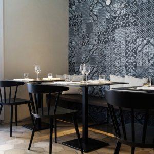 2015 – Ristorante Crocifisso – Noto (Siracusa) – VI-M studio – Patchwork of NOVECENTO + KOMON NATURA tiles