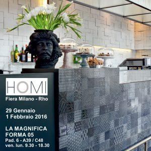 2016 01<br>HOMI – Milan