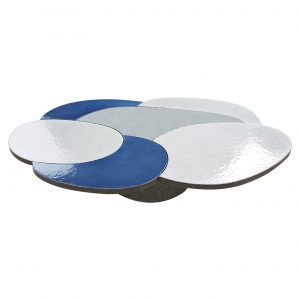 COFFEE TABLE BLUE & GREY