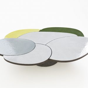 COFFEE TABLE YELLOW & GREEN
