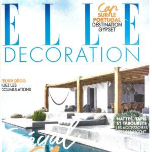 2016 07<br>ELLE DECORATION<br>MAISONS THE VACANCES