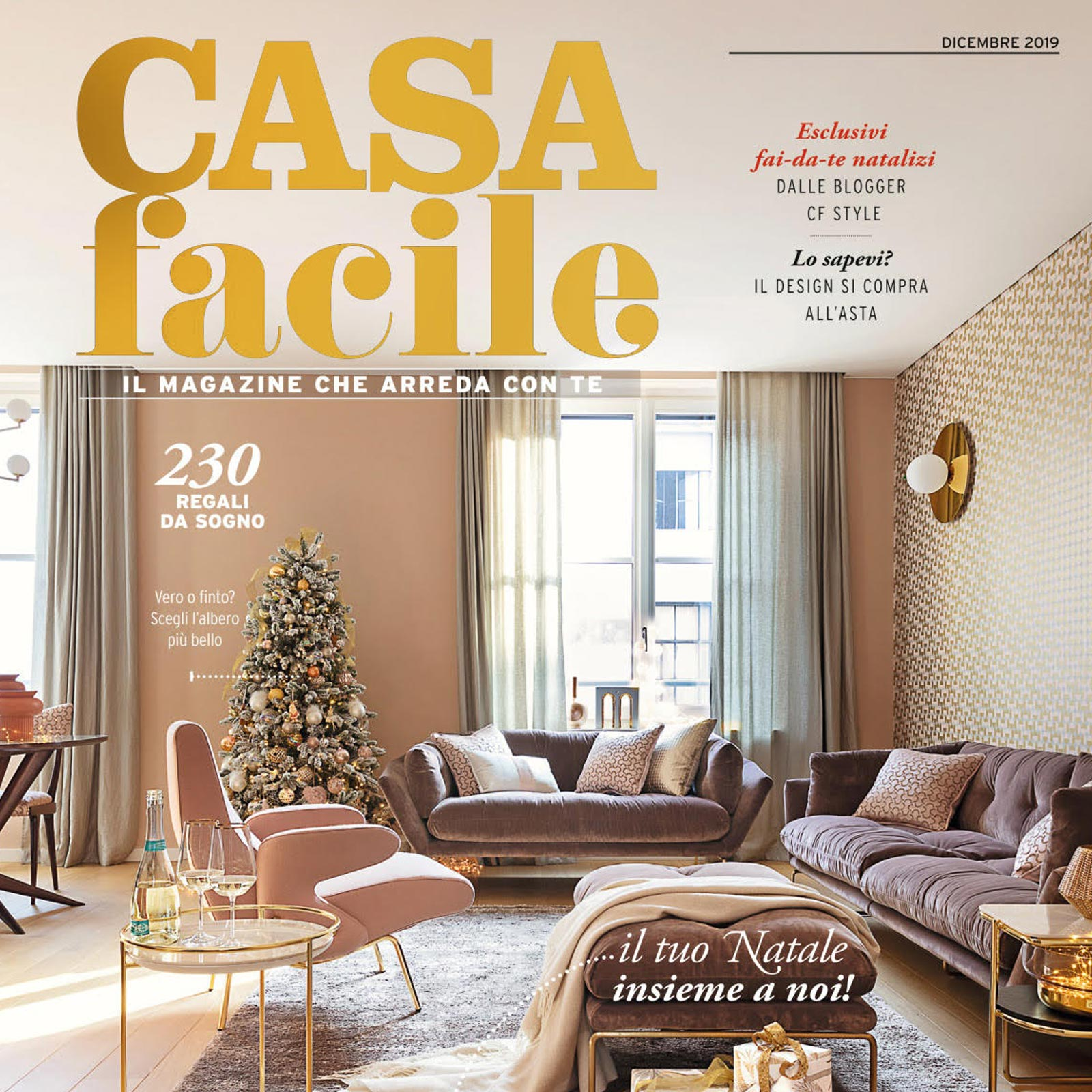 Made a Mano Press - Casa Facile Dicembre 2019 - komon Natura