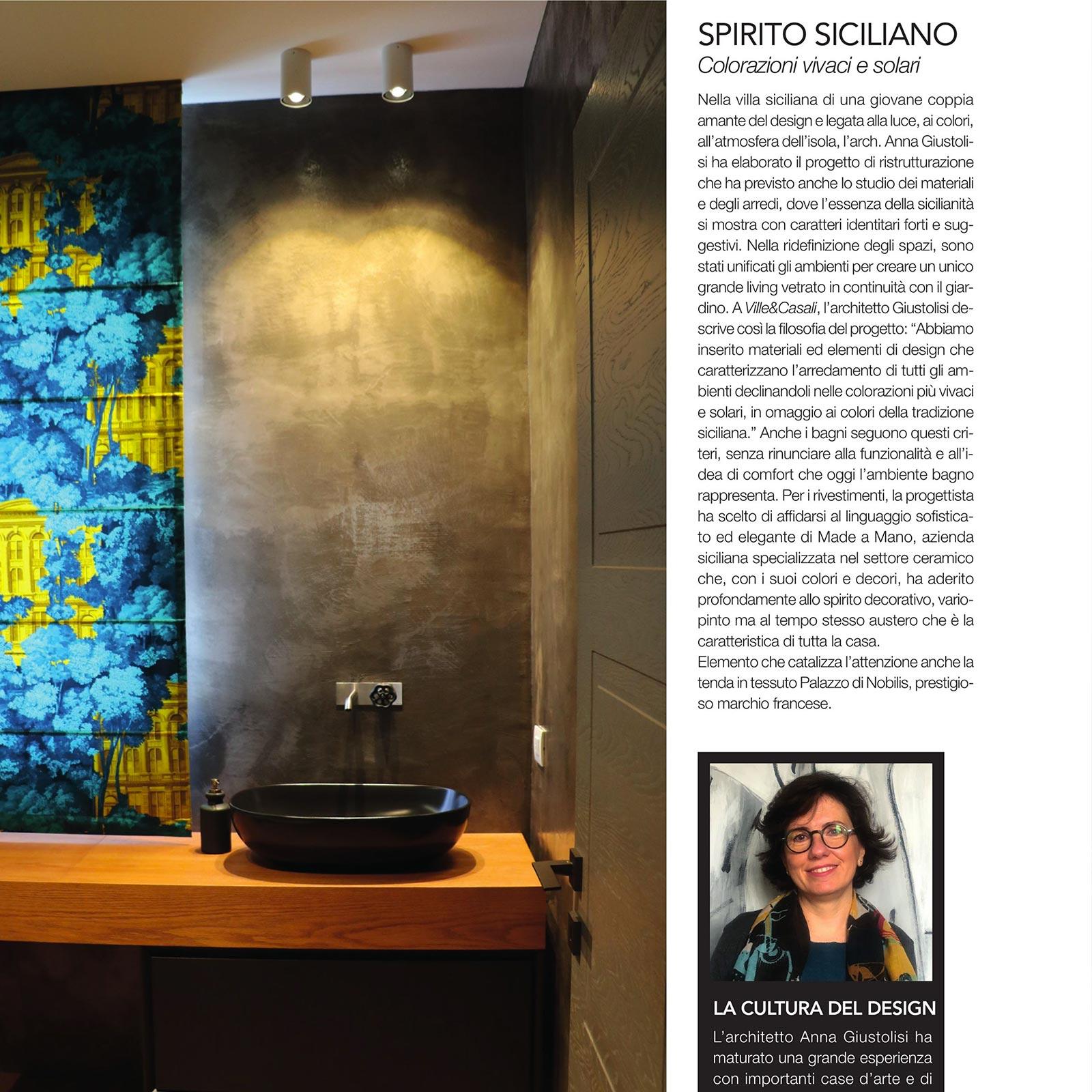 Made a Mano - Press 2020 May - Ville e Casali - Arch. Giustolisi Anna